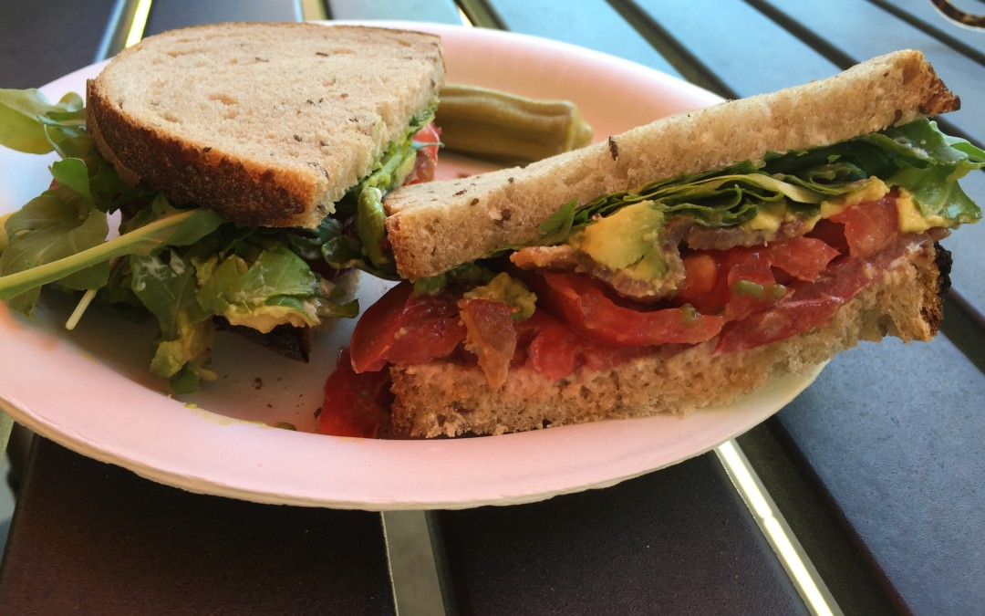 Healthier BLAT Sandwich
