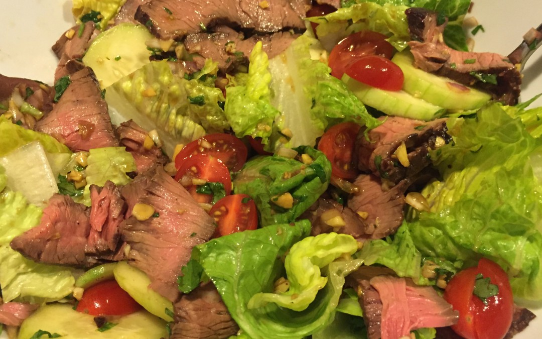 Thai Beef Salad (Yum Nuea)
